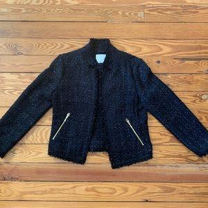 Black tweed blazer by Kate Spade size 10